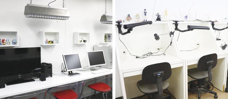 フィギュアデザイン学科教室
