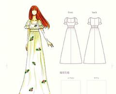ファッションデザイン画