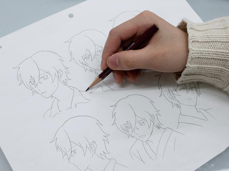 実践!プロからキャラクターの描き方を学ぼう!