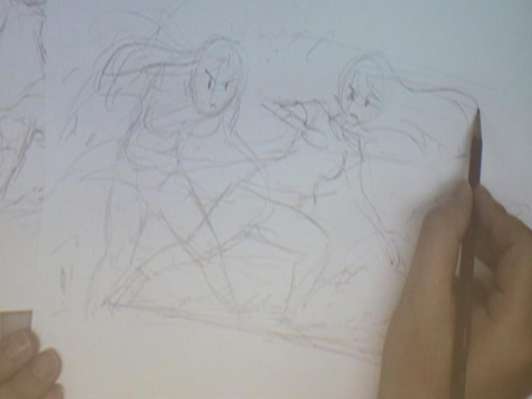 現役アニメーターによるキャラクターの描き方を見てみよう!