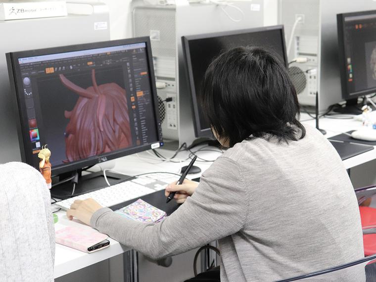 プロから学ぶ!デジタルフィギュア造形体験